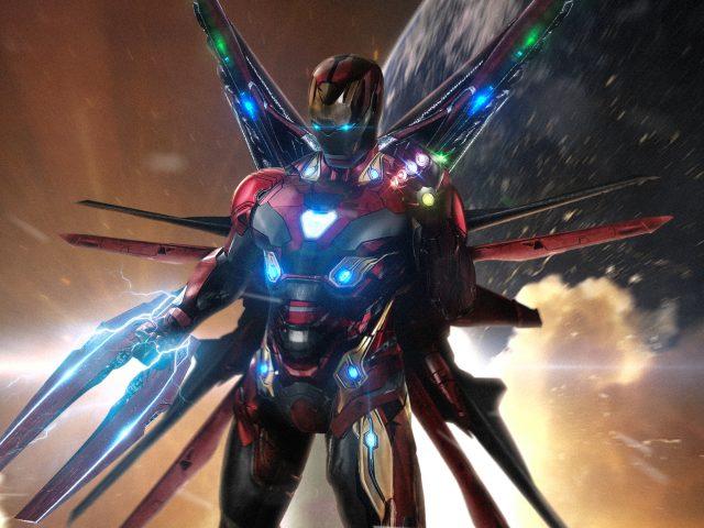 Железный человек в avengers 4