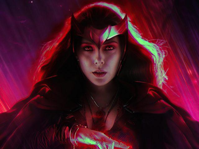 Алая ведьма Ванда Видение 2020 супергерои