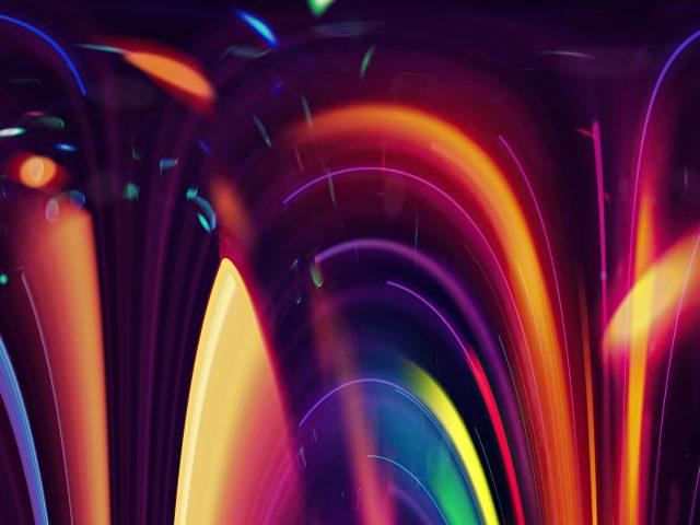 Свет движение художественная абстракция