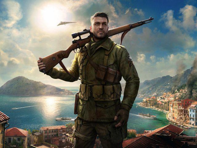 Элитный снайпер 4 игра