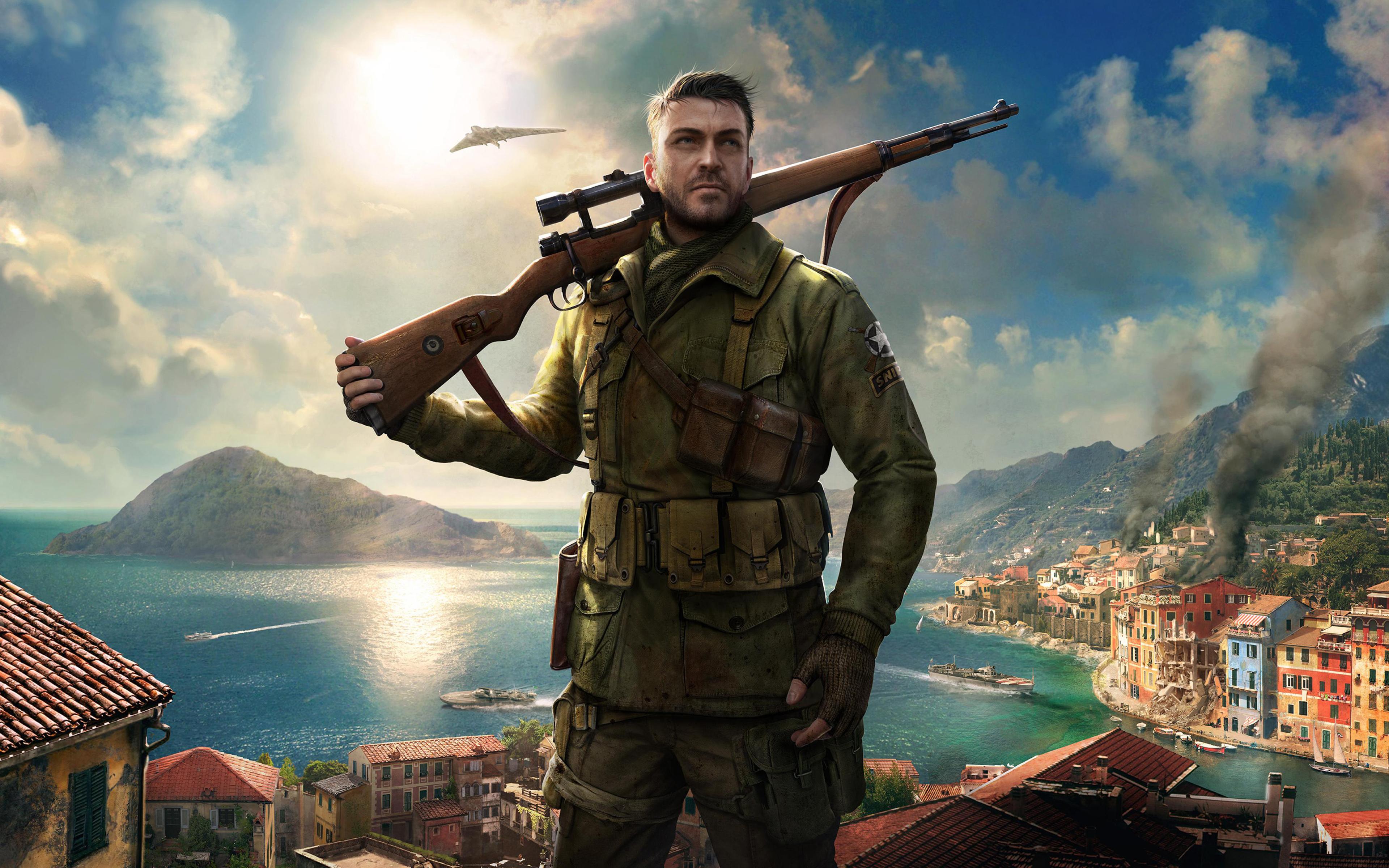 Элитный снайпер 4 игра обои скачать