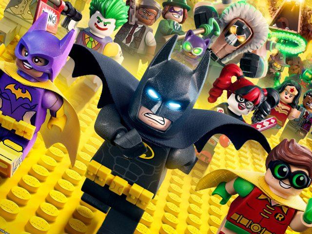Лего Бэтмен анимация.