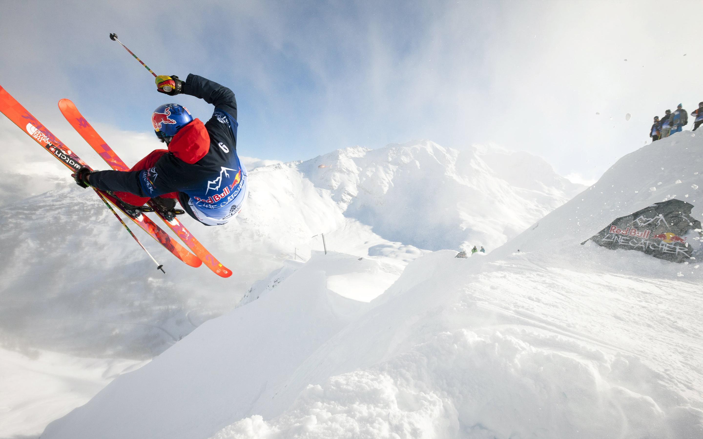 Горные лыжи. обои скачать