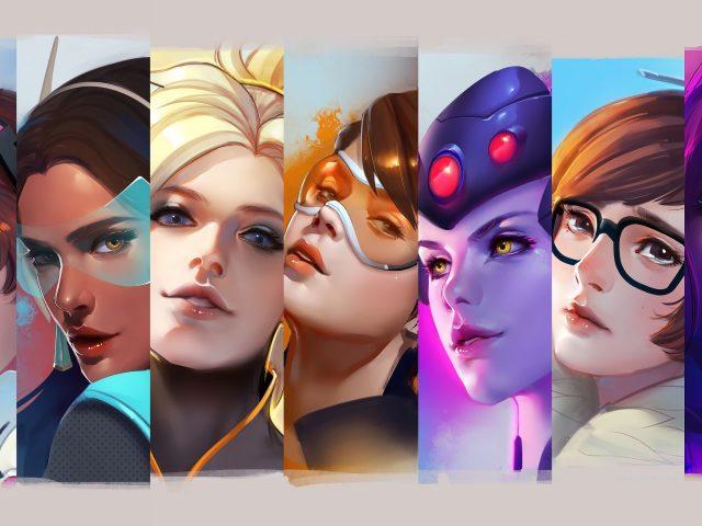 Наблюдение женских героев