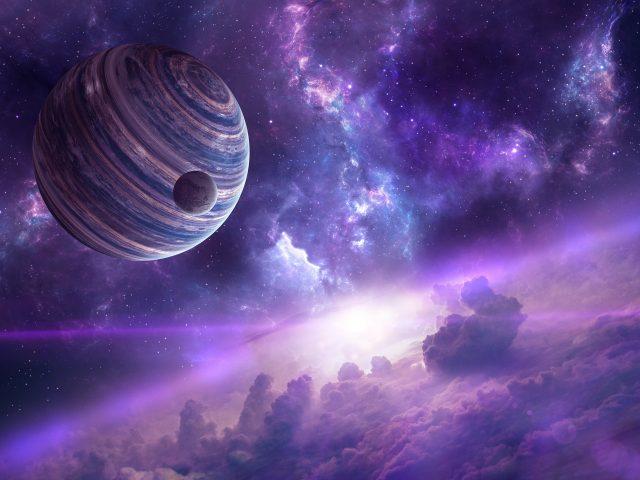 Nebula planets.