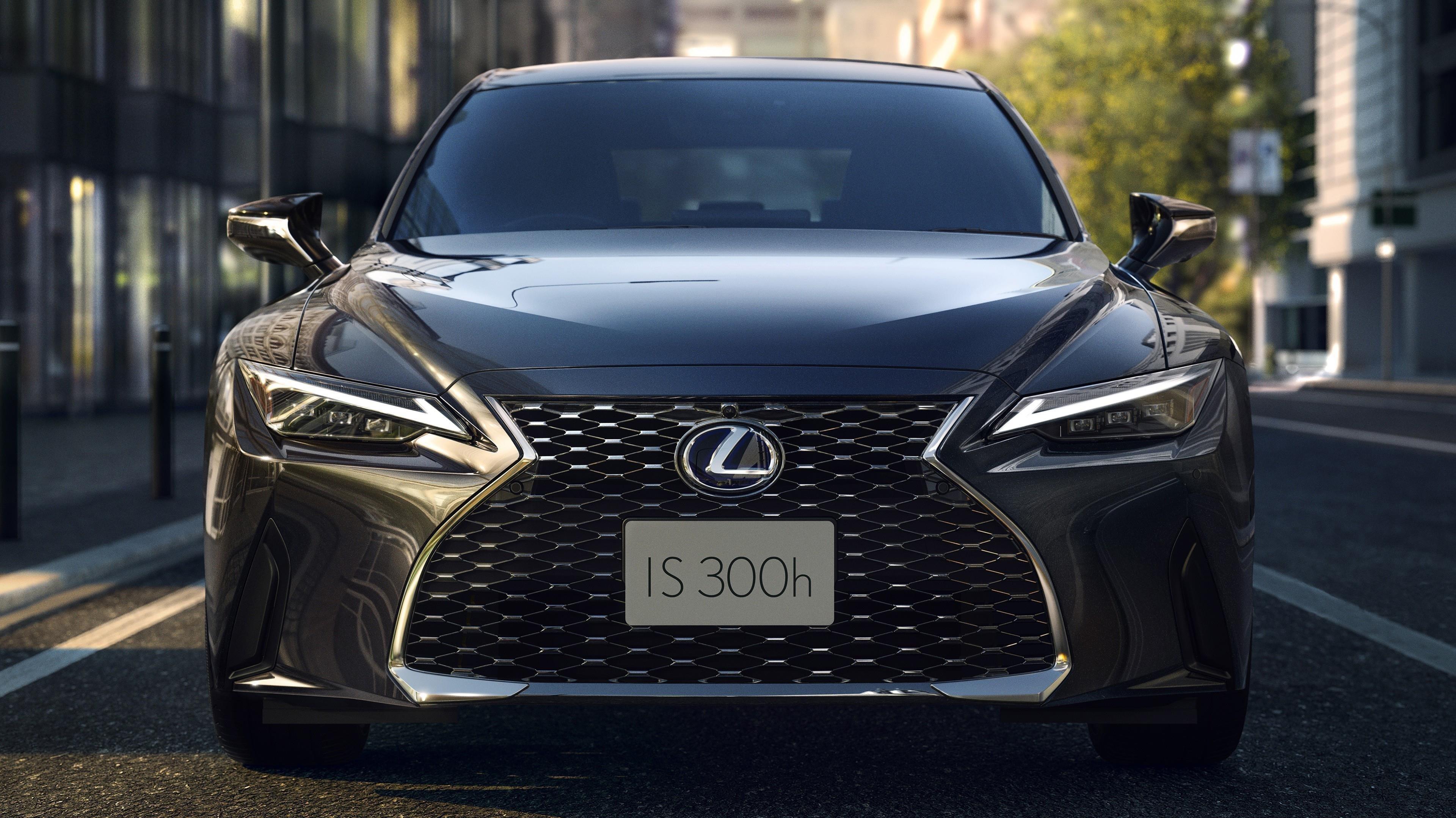 Lexus IS 300h 2021 автомобили обои скачать