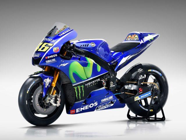 Сайт movistar Ямаха yzr M1 для MotoGP 4к 8к.
