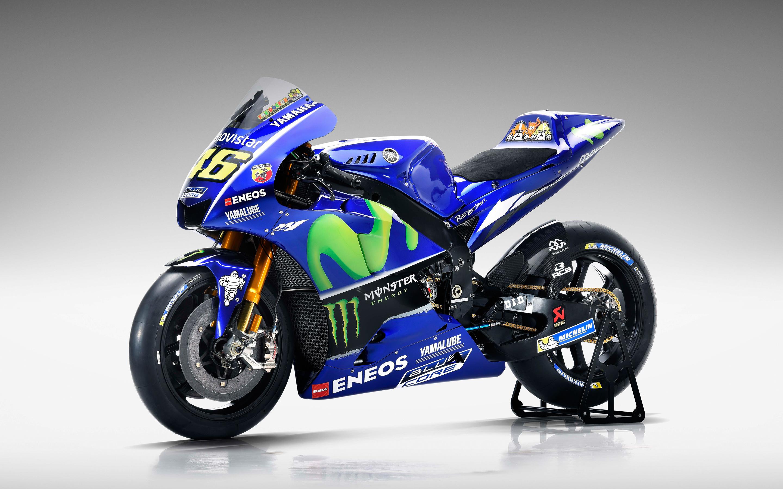 Сайт movistar Ямаха yzr M1 для MotoGP 4к 8к. обои скачать