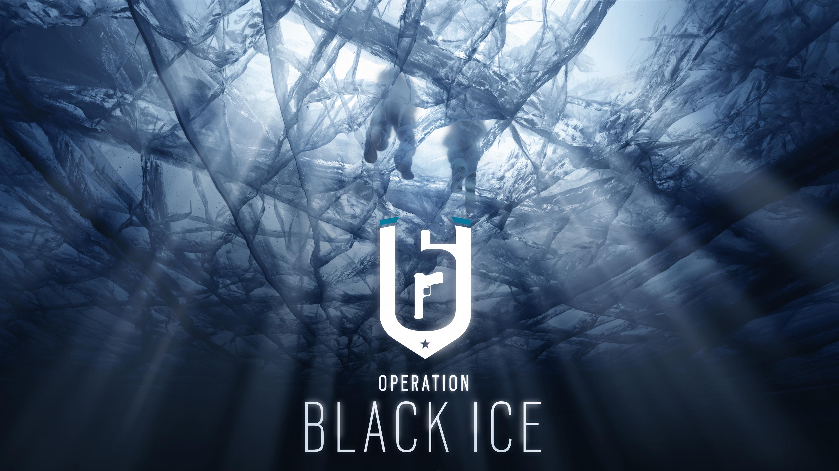 Радуга шесть осады операция черный лед 8к. обои скачать