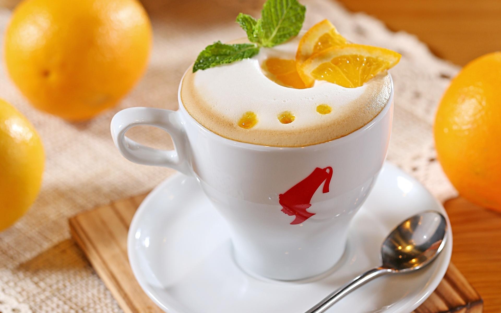 Капучино, кофе, молоко, пена обои скачать