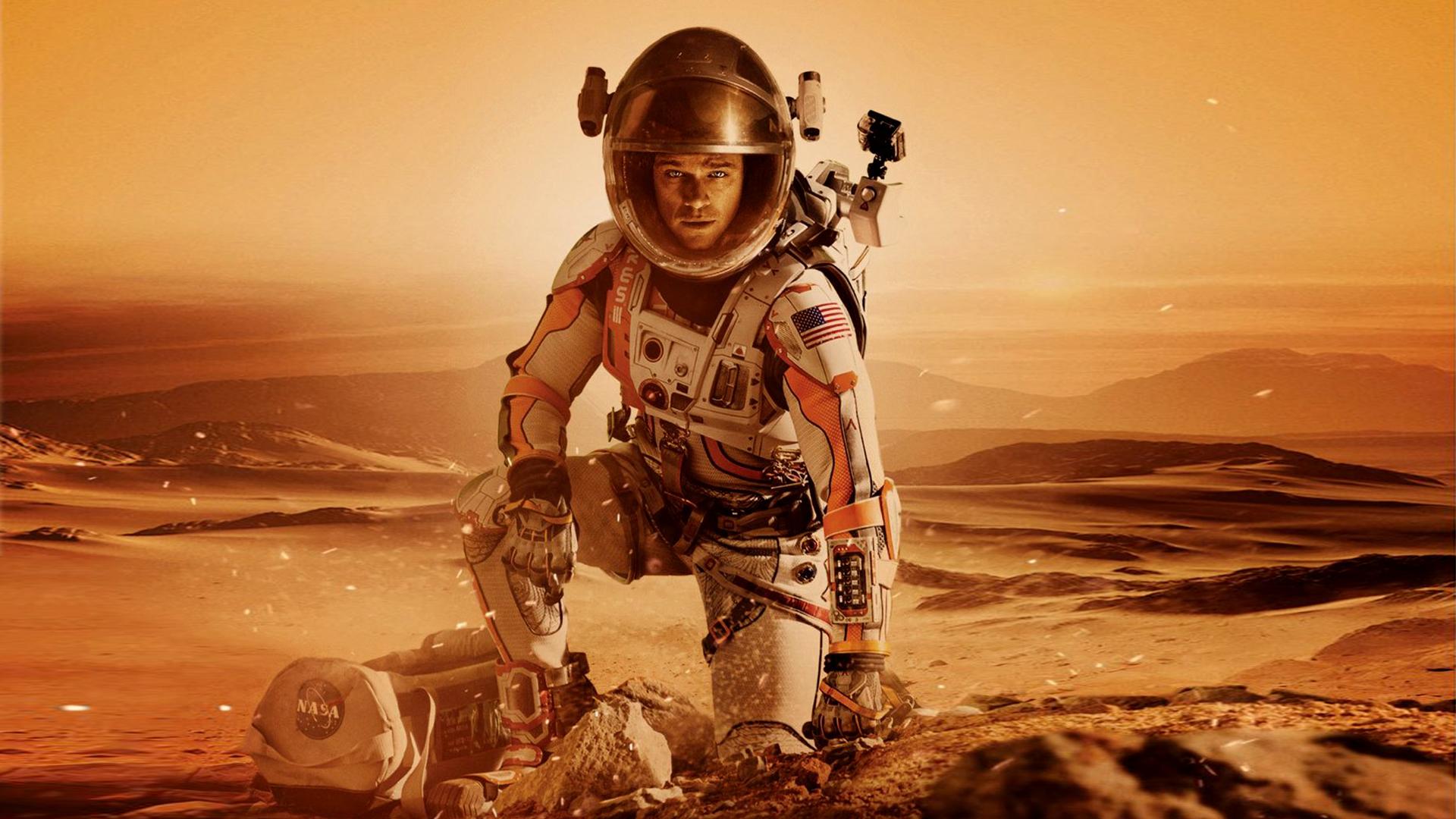 Марсианин. обои скачать