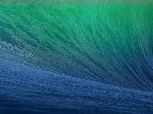 Волны складе для OS X маверикс.