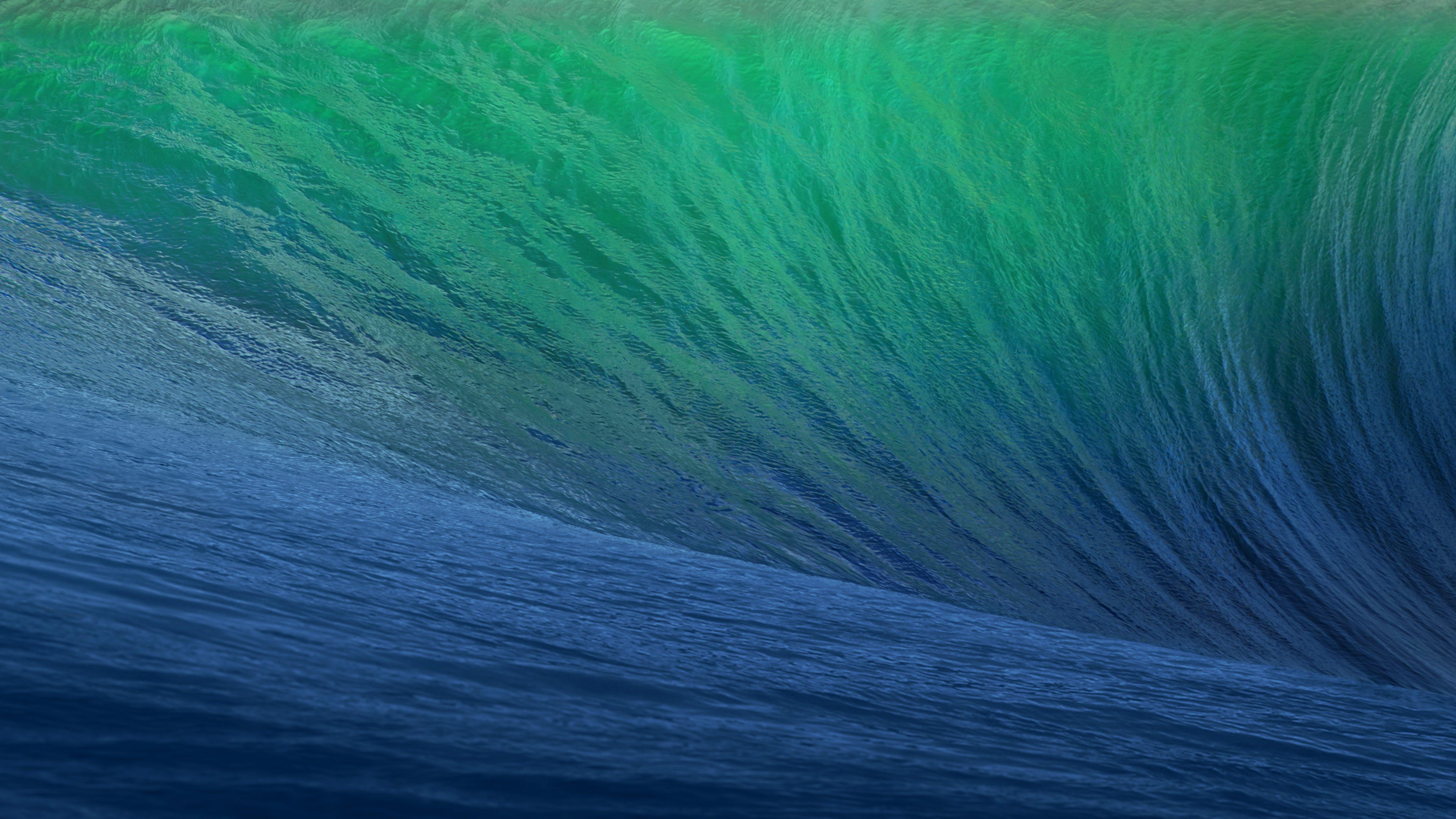Волны складе для OS X маверикс. обои скачать