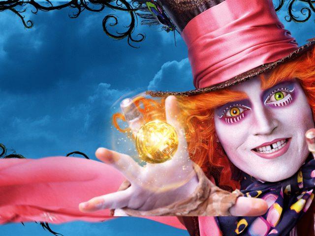 Джонни Депп Алиса в Зазеркалье.