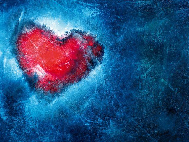 Замороженное сердце любви