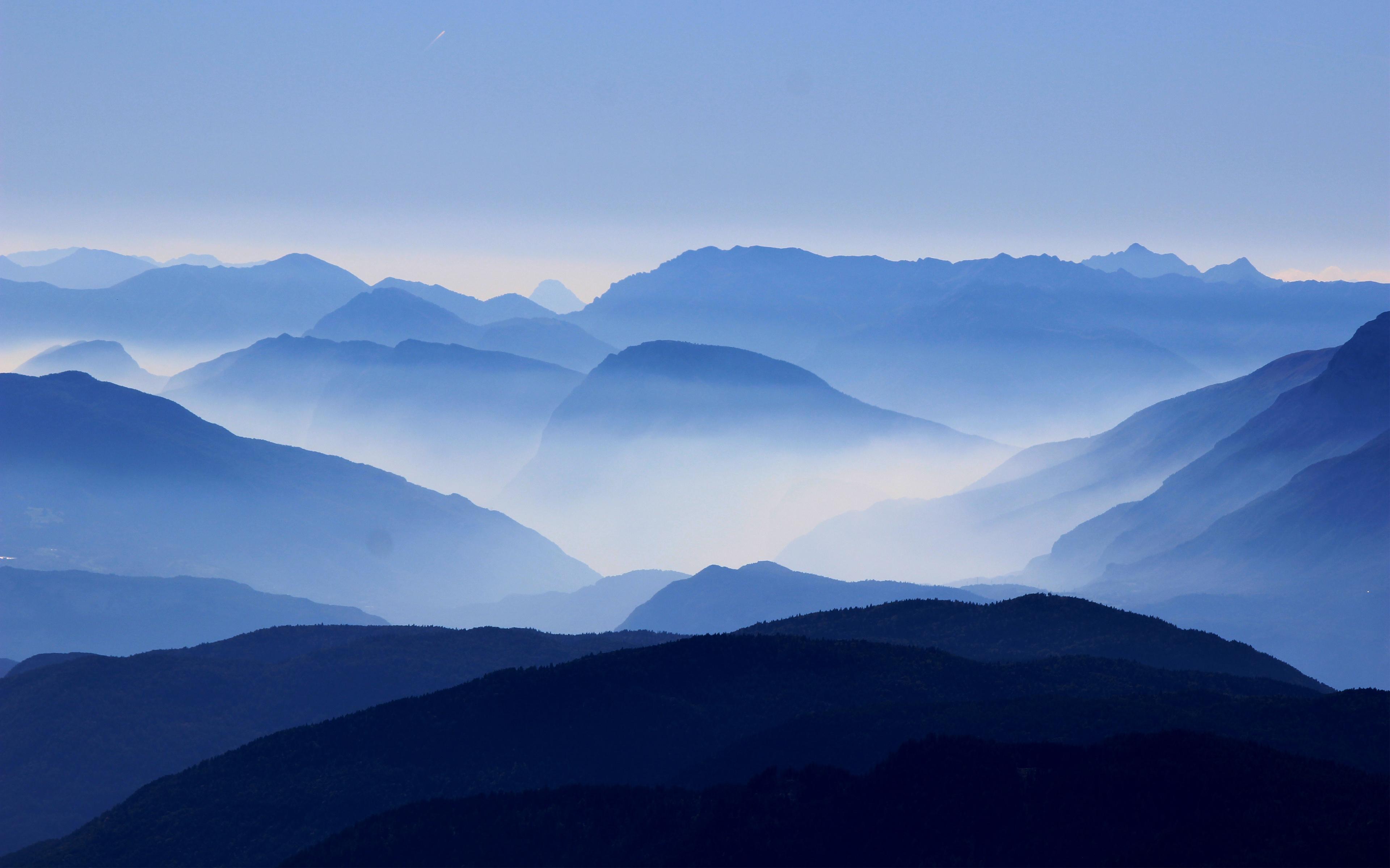 Горы Корно-Неро обои скачать