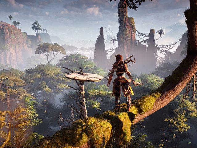Горизонт нулевой геймплей рассвет