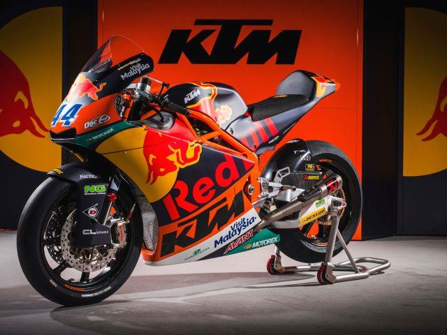 КТМ в moto2 MotoGP гонки велосипед 4к.