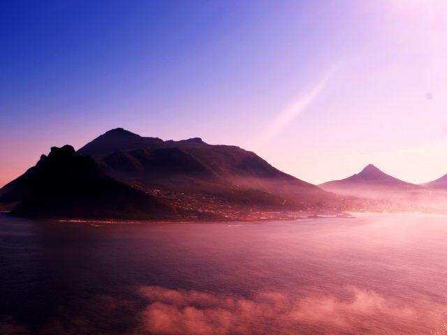 Живописные горы.