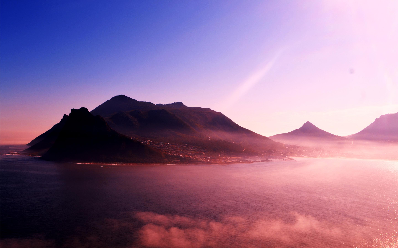 Живописные горы. обои скачать