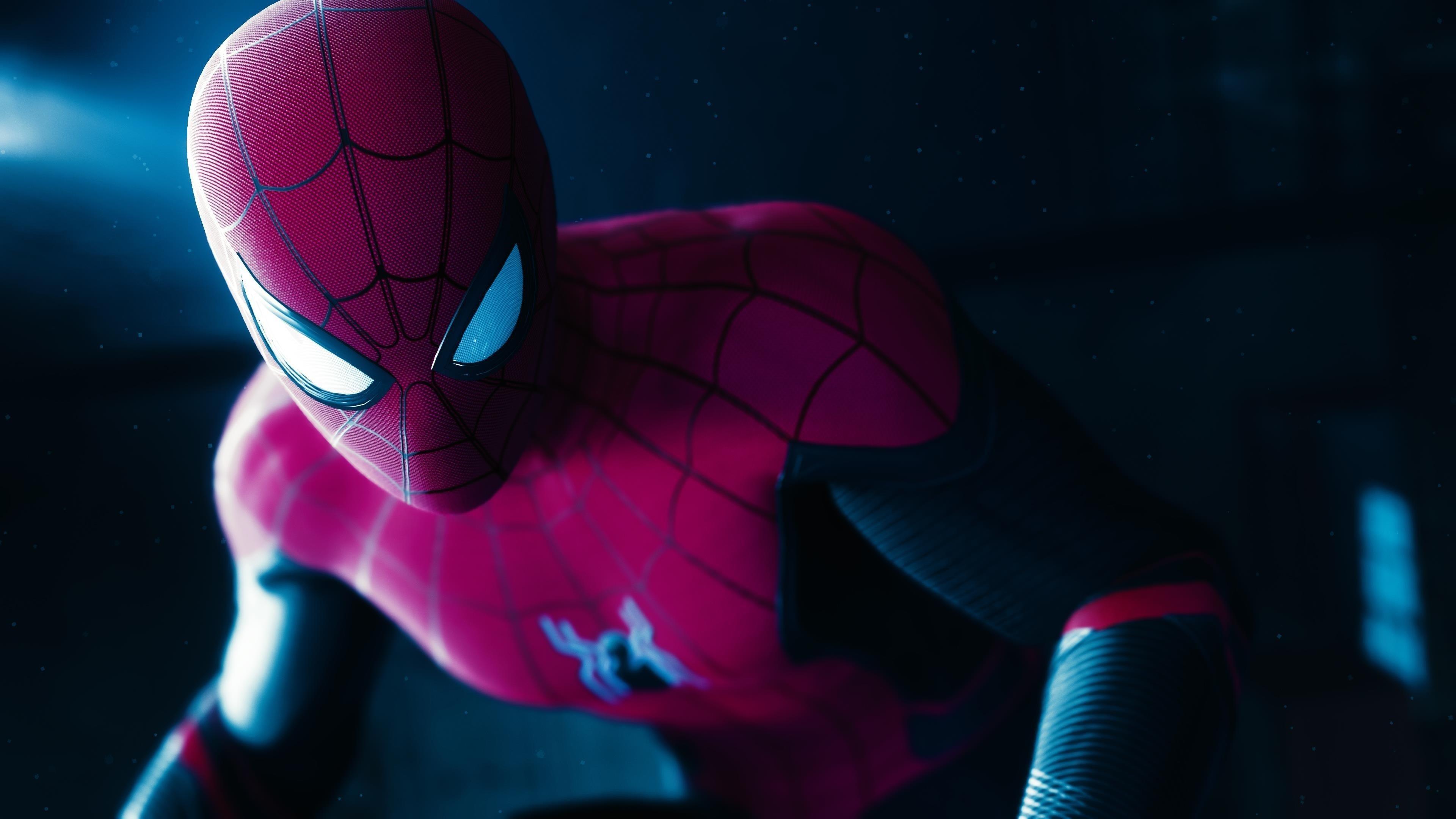 Человек-паук Вдали от дома ps4 pro игра обои скачать