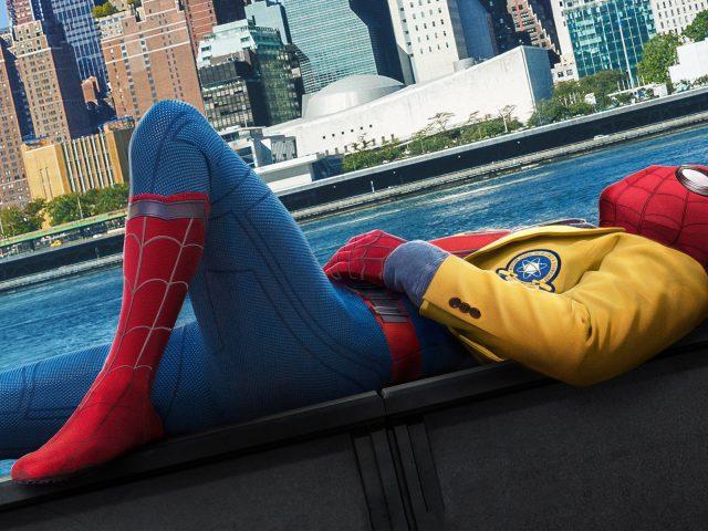 Человек паук возвращение.