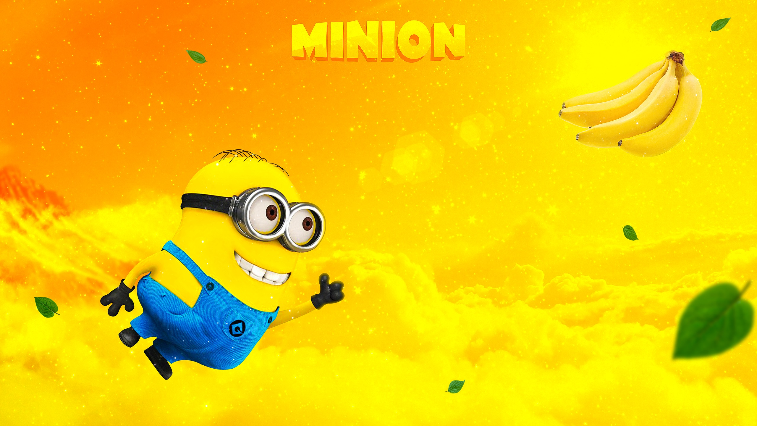 Миньон банан обои скачать