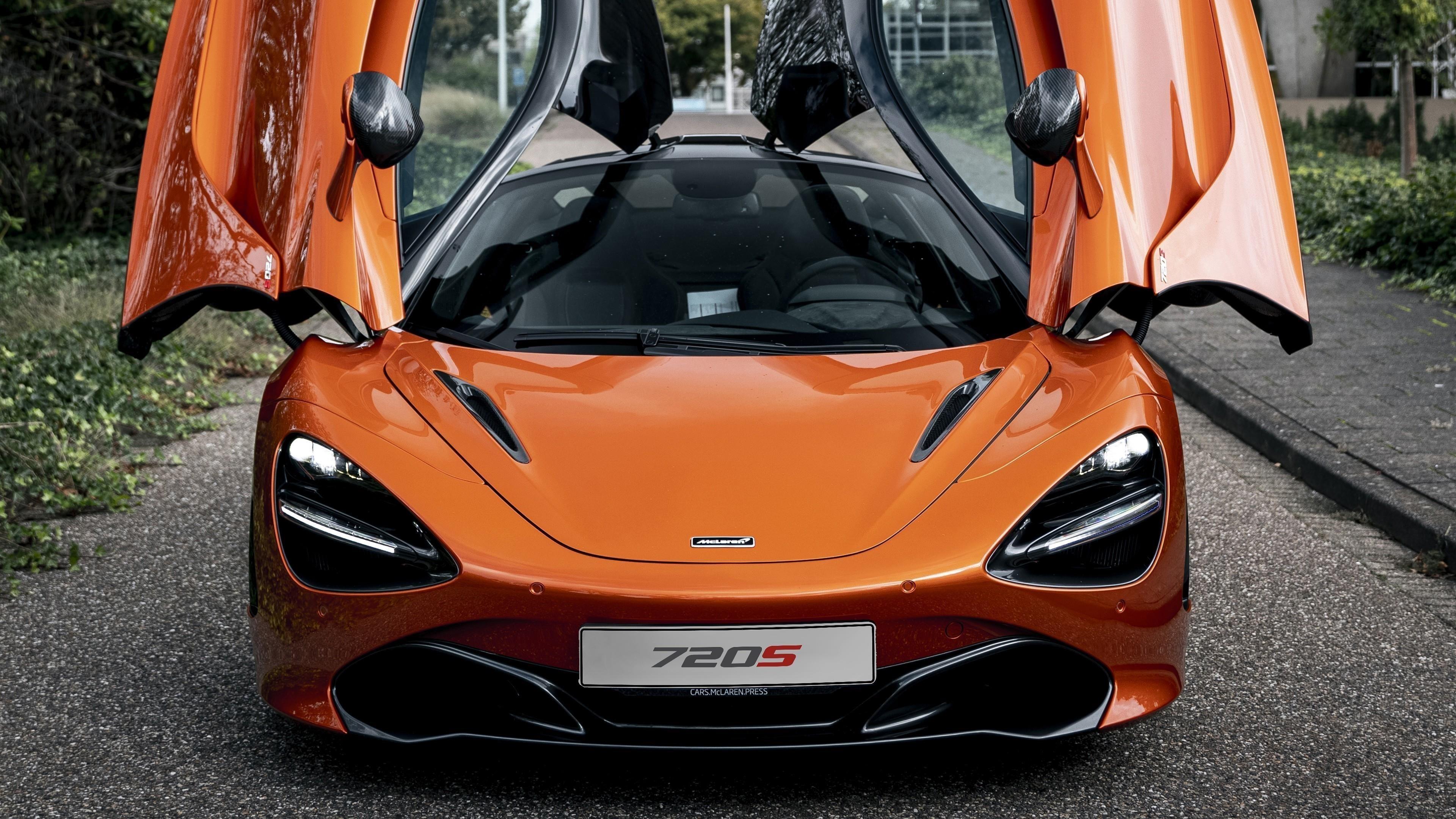 Автомобили mclaren 720s 2021 года выпуска обои скачать