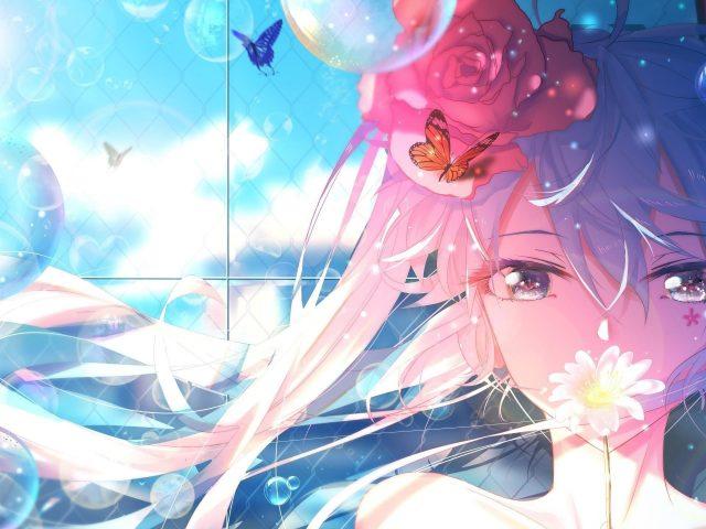Miku anime girl