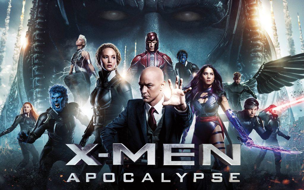 X мужчин Апокалипсис плакат баннер. обои скачать