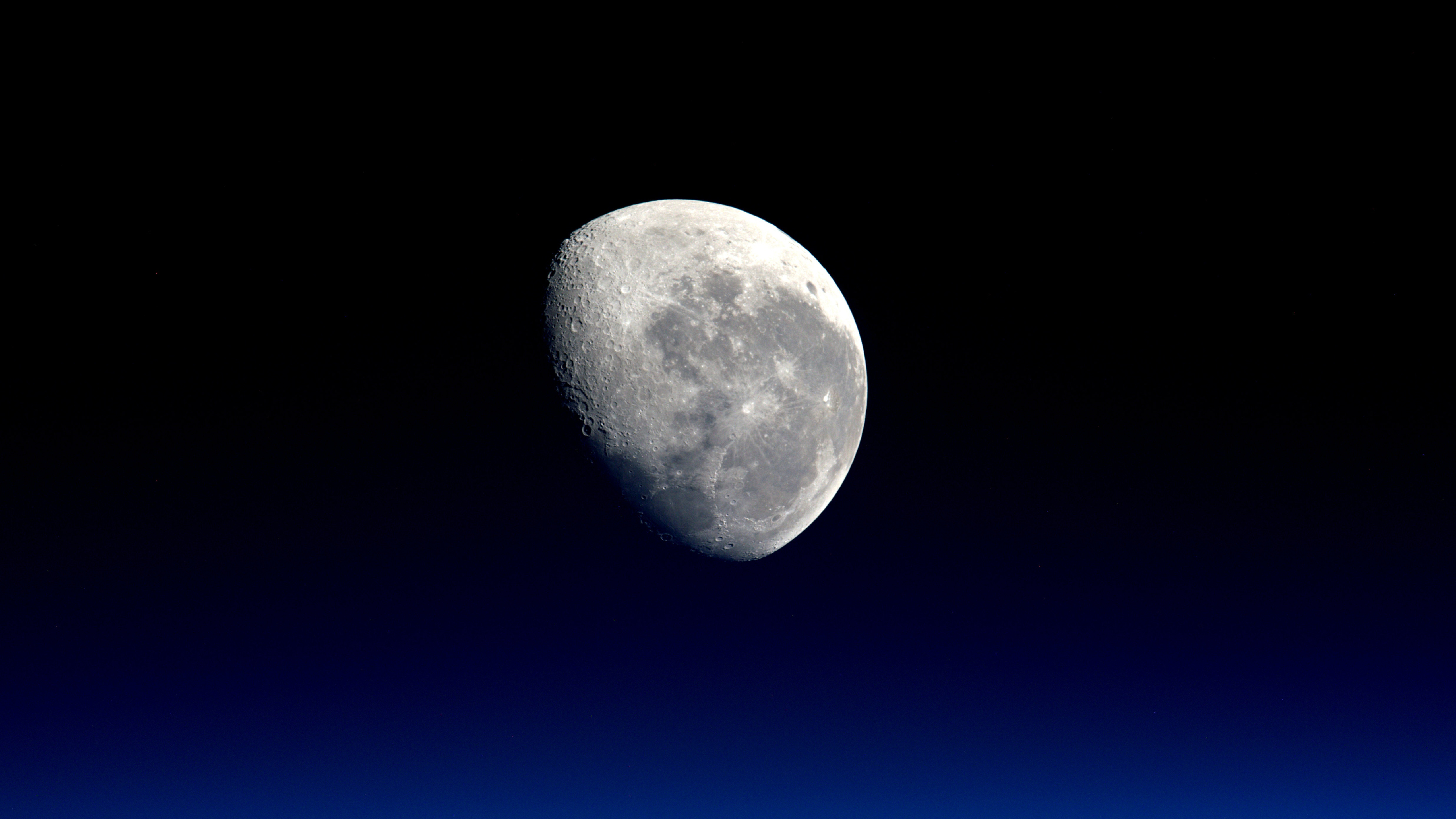 Луна НАСА обои скачать