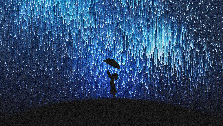 Дождь звезд мечты обои скачать