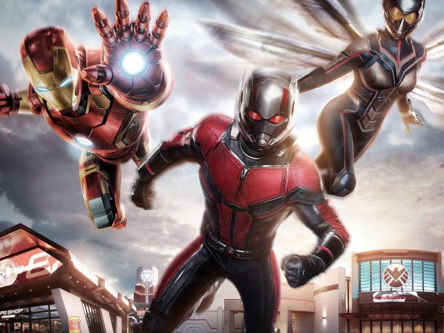 Железный Человек муравей-Человек Оса