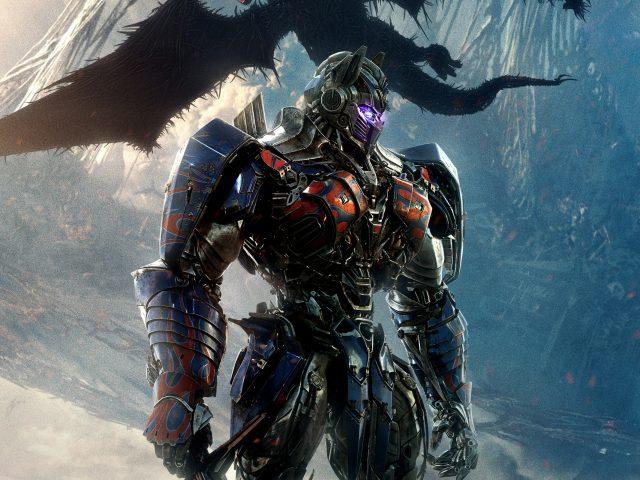 Оптимус Прайм трансформеры последний рыцарь.