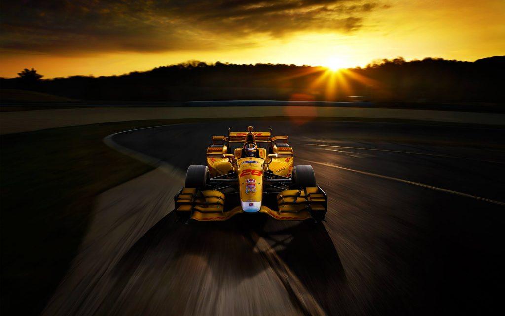 Автомобиль Honda F1 гоночный автомобиль. обои скачать