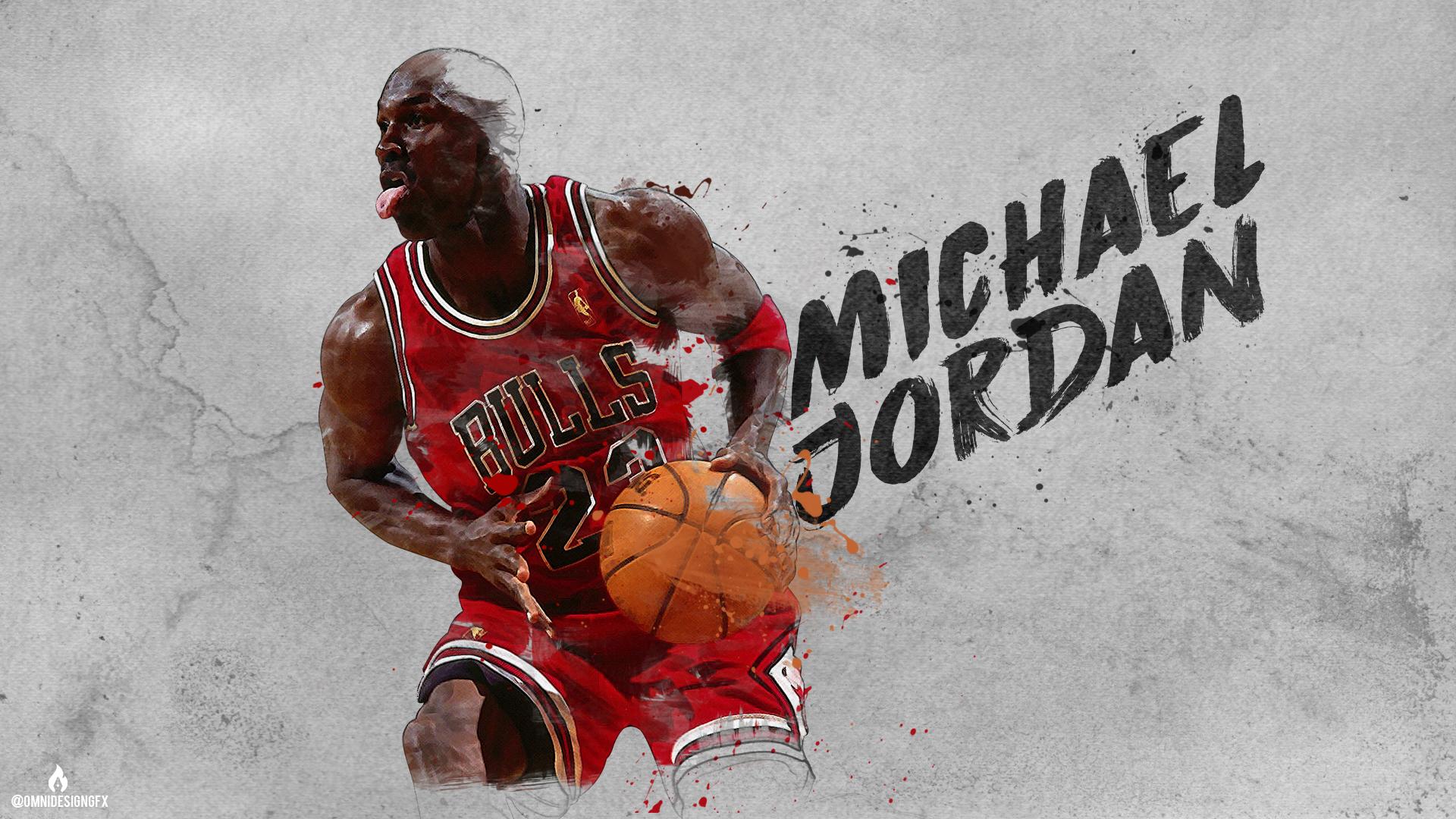 Работа Майкла Джордана обои скачать