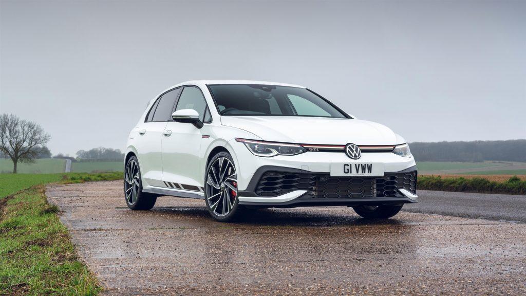 Volkswagen golf gti clubsport 2021 автомобили обои скачать