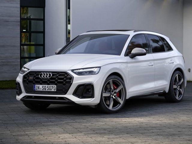 Белый audi q5 30 tdi 2020 автомобили