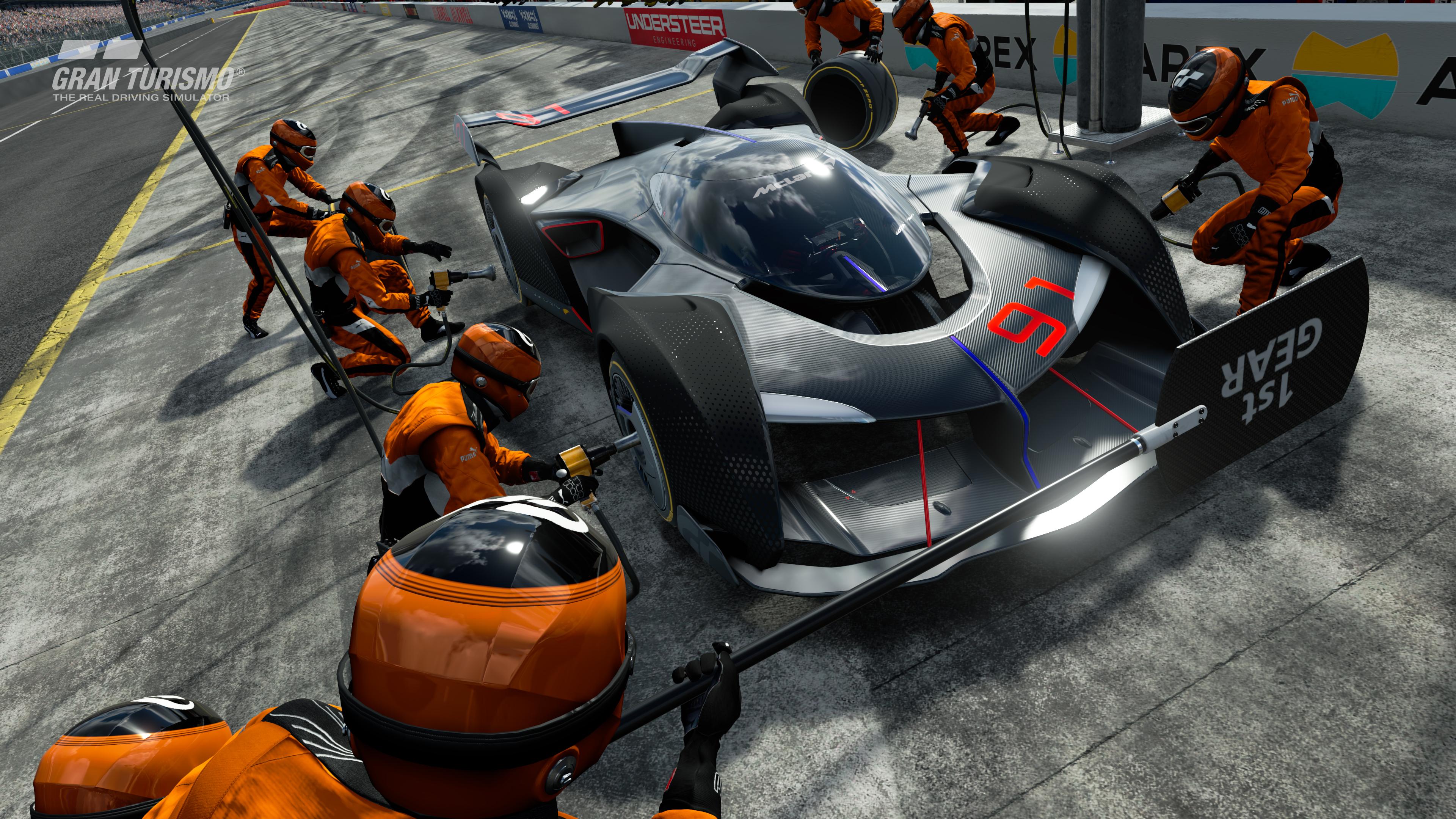 McLaren типичное gt зрения для спорта PS4 Gran Turismo обои скачать