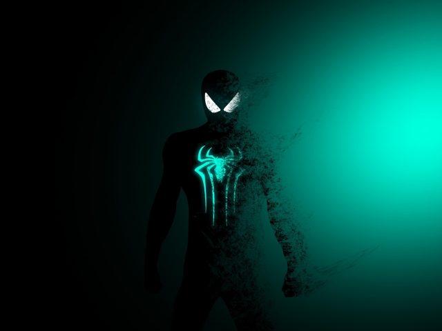 Человек-паук минимальное произведение искусства