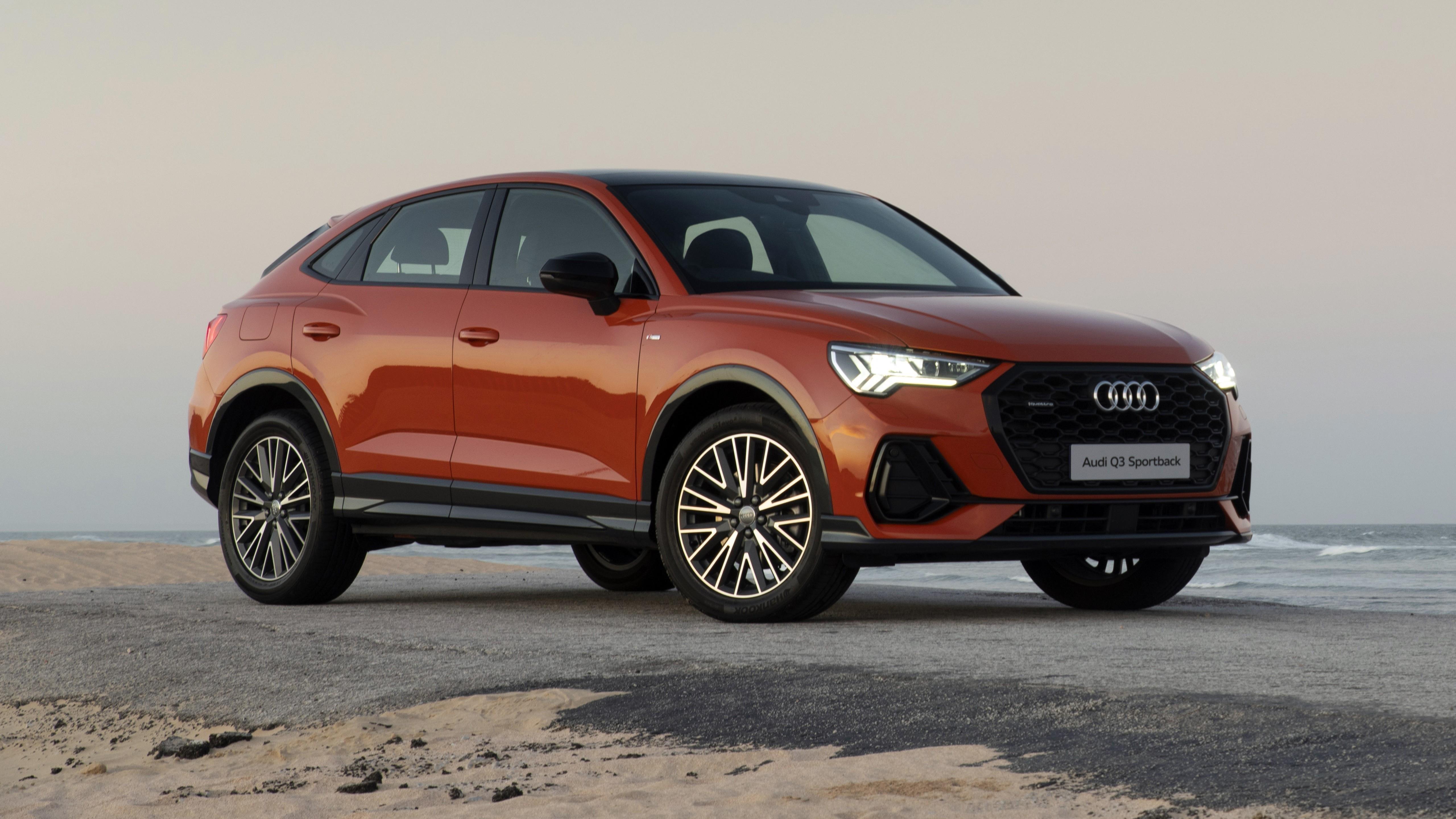 Audi q3 sportback 40 tfsi quattro s line 2020 автомобили обои скачать