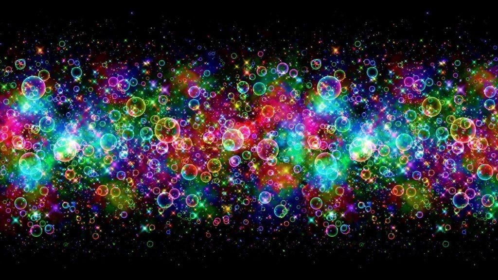 Красочные пузыри абстрактные обои скачать