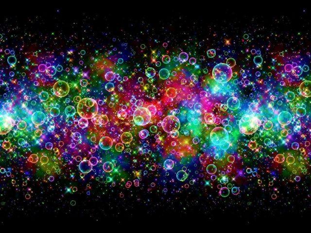 Красочные пузыри абстрактные