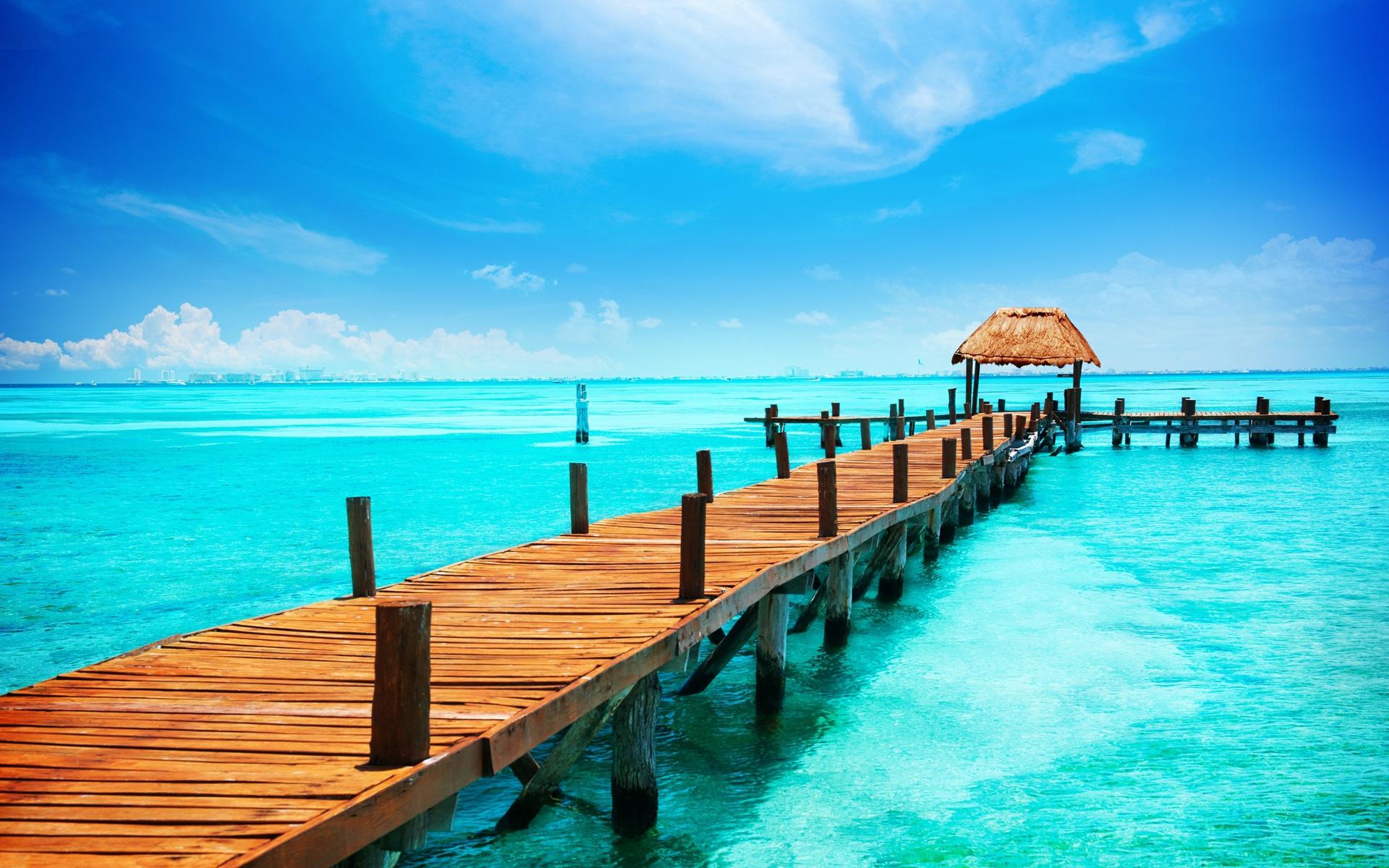 Пляж, море, отдых, лето обои скачать