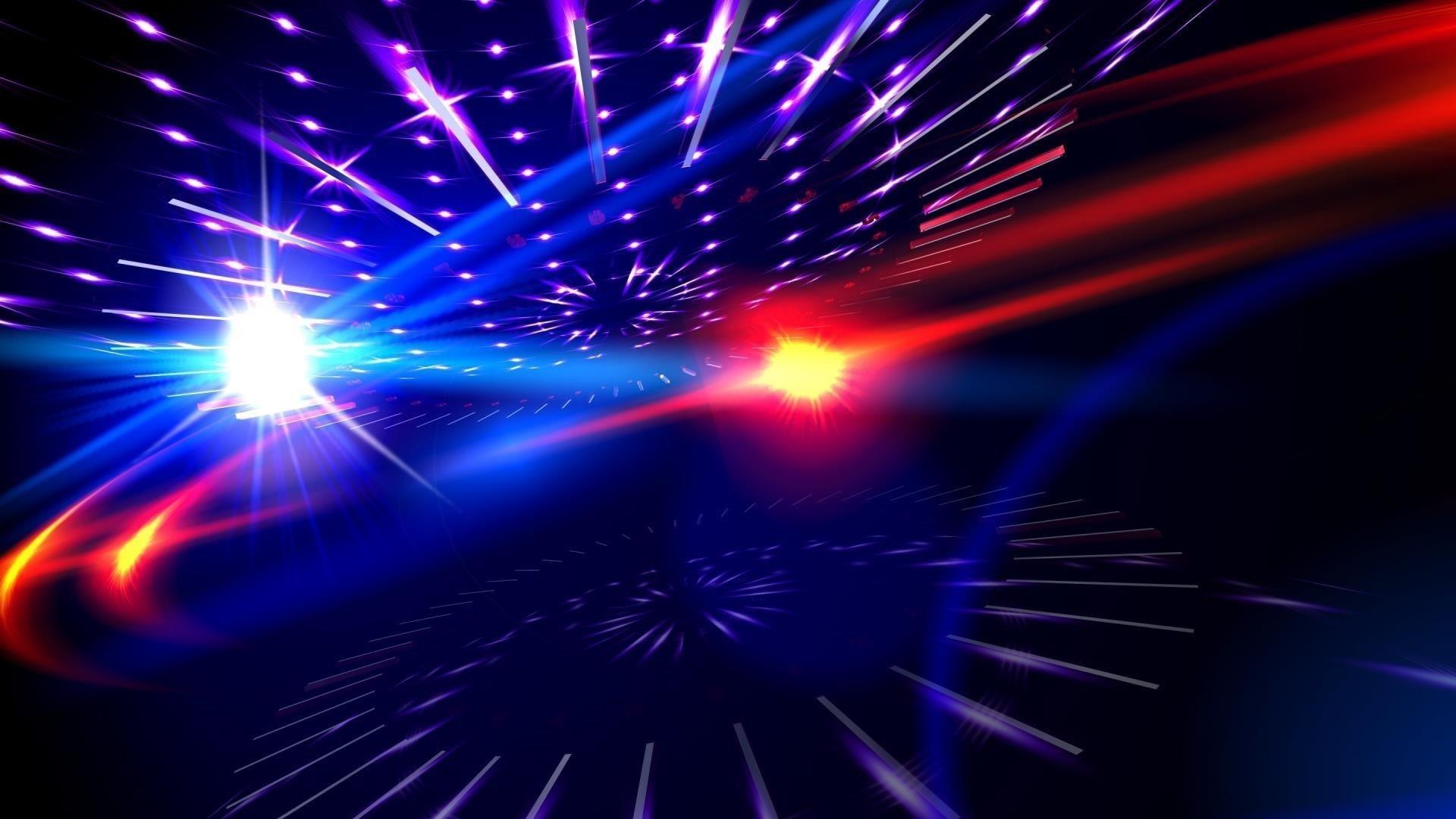 Белый красный синий свет блики лучи абстрактные обои скачать