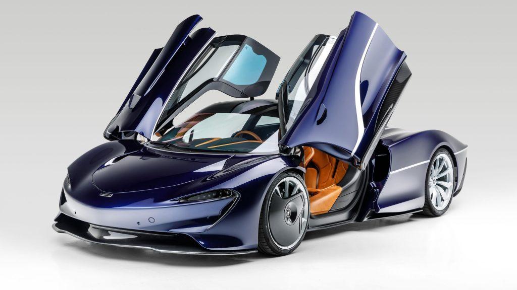 Mclaren speed tail 2021 2 автомобиля обои скачать