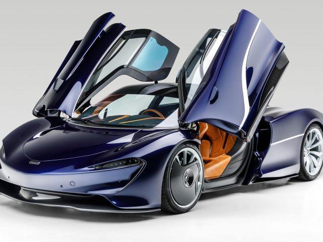 Mclaren speed tail 2021 2 автомобиля