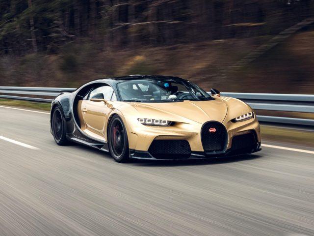 Bugatti chiron super sport 2021 6 автомобилей