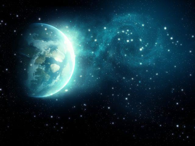 Галактика земля.