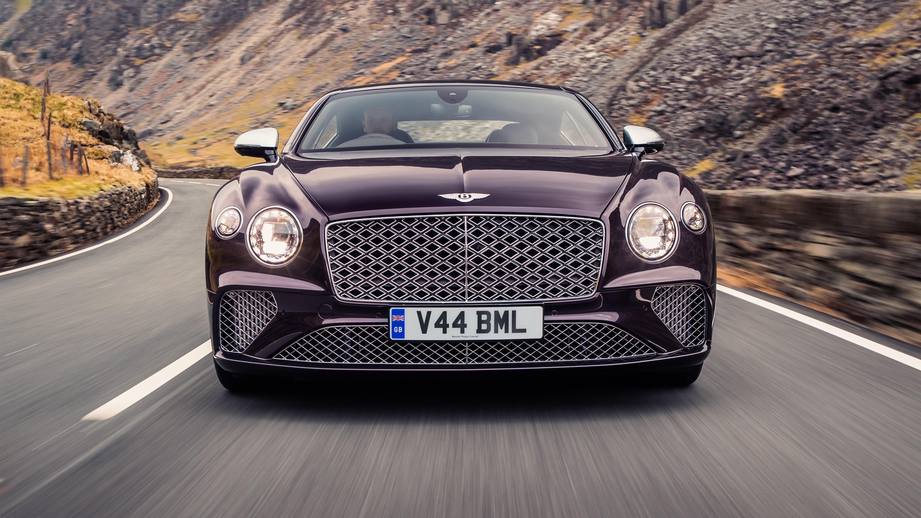 Bentley continental gt mulliner 2 автомобиля обои скачать